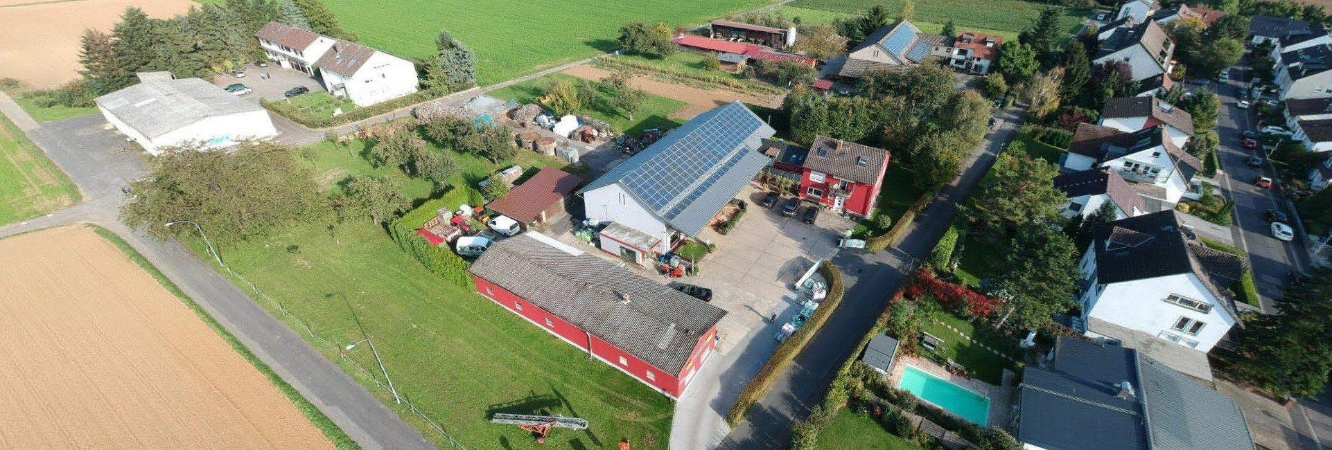 Volk Gartentechnik - Luftbild